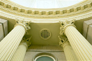 Pillar detail from the Four Courts