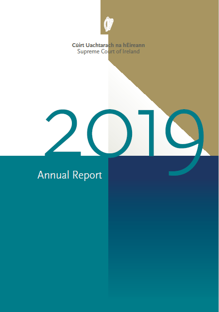 Front cover 2019 Supreme Court Annual report